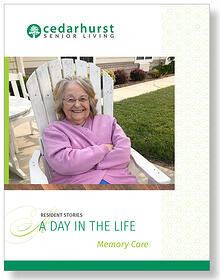Resident Stories A Day in the Life: Memory Care