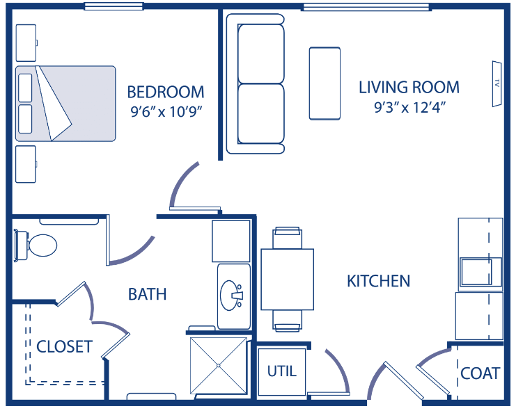Godfrey One Bedroom