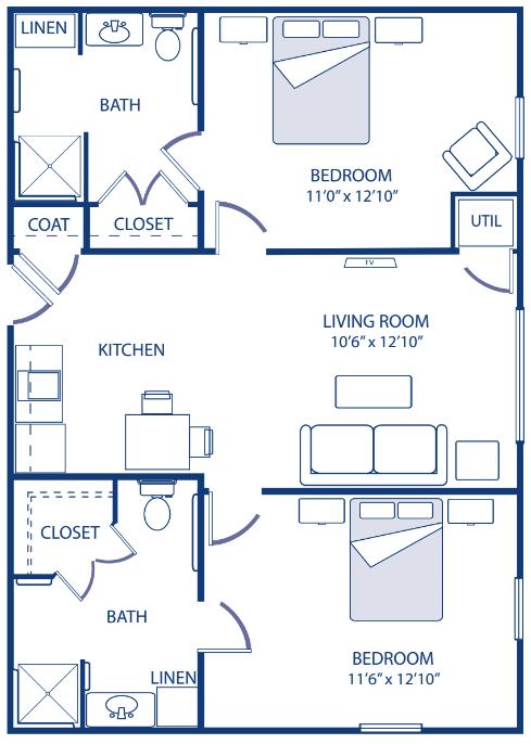 Godfrey Two Bedroom