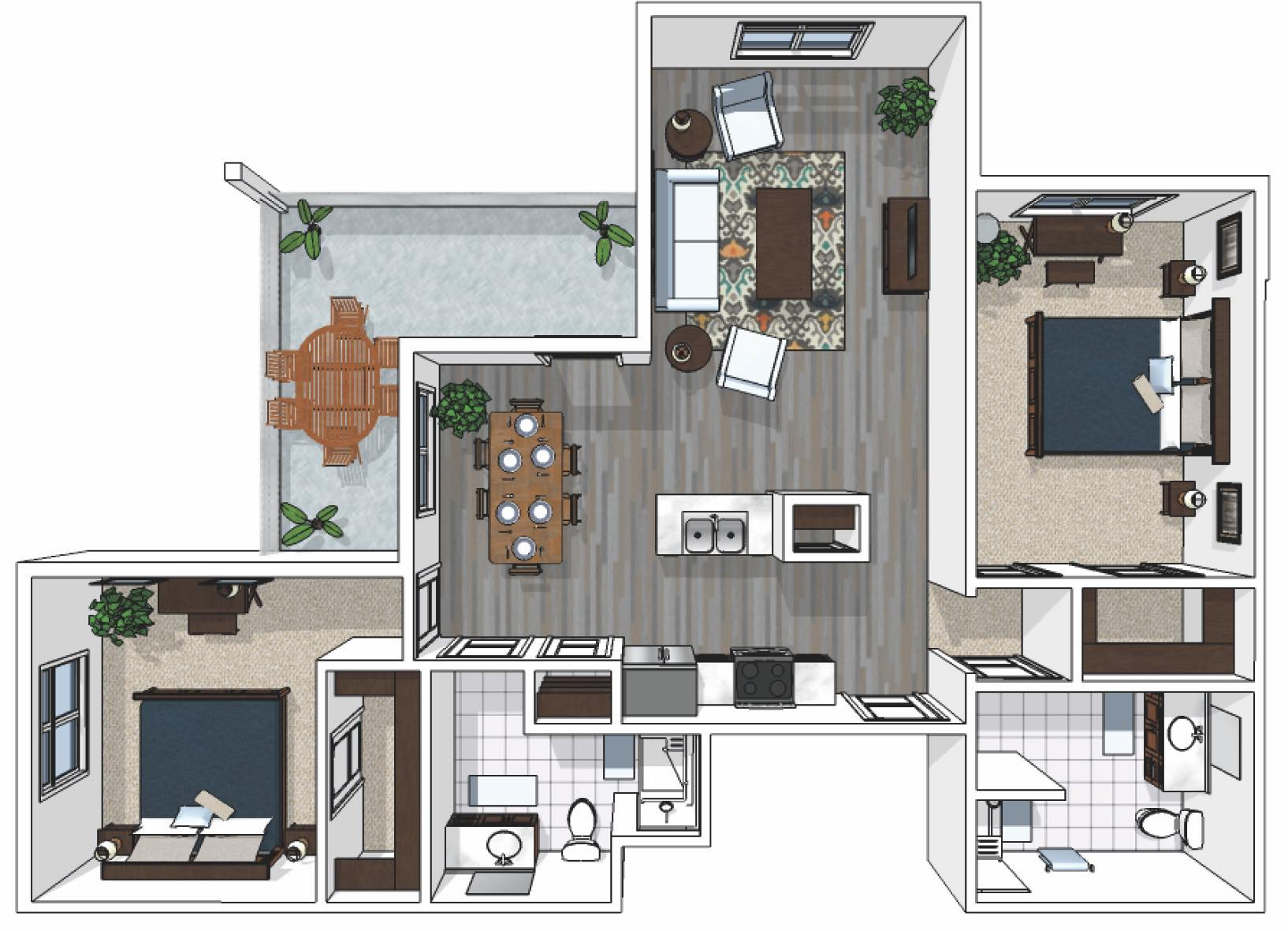 Cedarhurst_Two-Bedroom-Premium_1007-sq.-ft._AL_Lebanon