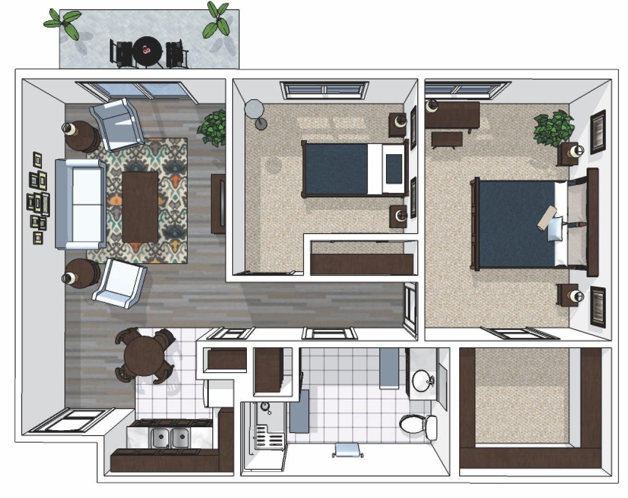 Cedarhurst_Two-Bedroom_788-sq.-ft._AL_Lebanon