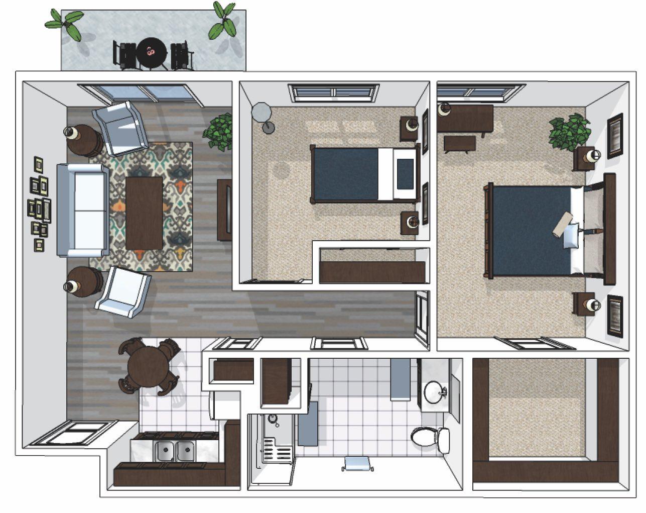 Cedarhurst_Two-Bedroom_788-sq.-ft._PC_Owensboro