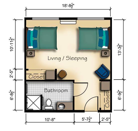 Companion Suite with Shared Bath